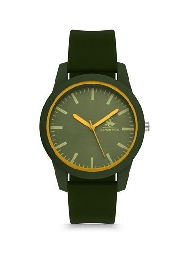 G Sport Polo Saat Yeşil